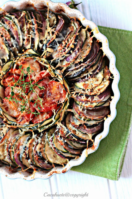 Tarte de vegetais/Vegetable Tart