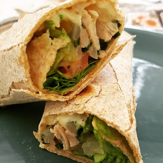DESAFIO LIGHT: Fajitas (Wraps) Integrais de Frango!
