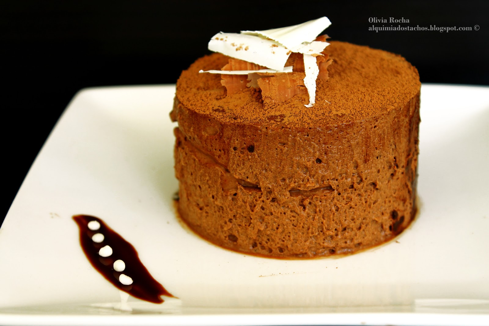 Mousse de Chocolate (Chef Raymond Blanc)
