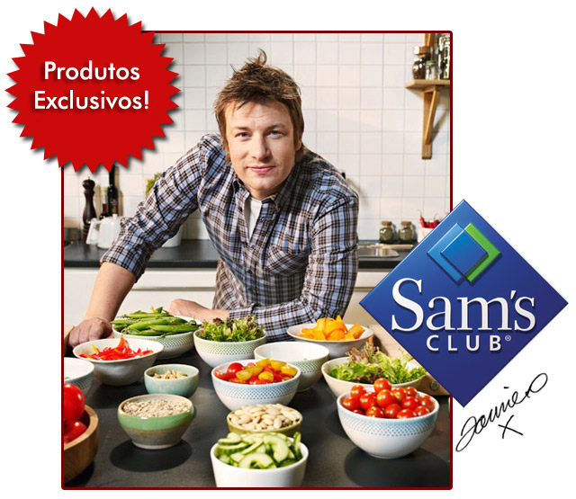 Jamie Oliver no Sam's Club e Sorteio no Blog