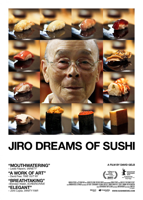 Jiro Dreams of Sushi & Hot Roll