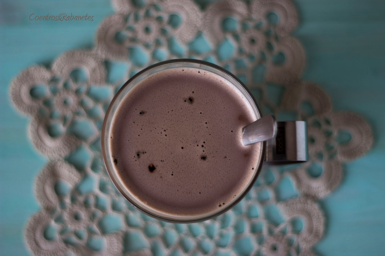 Leite de avelã com chocolate | Hazelnut milk with chocolate