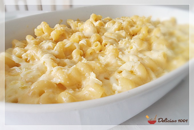 Mac and cheese – macarrão com queijo
