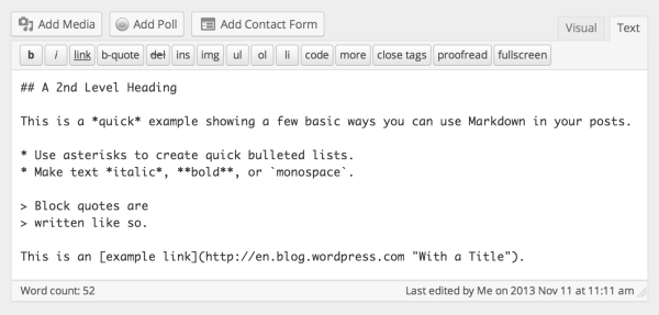 Write (More) Effortlessly With Markdown
