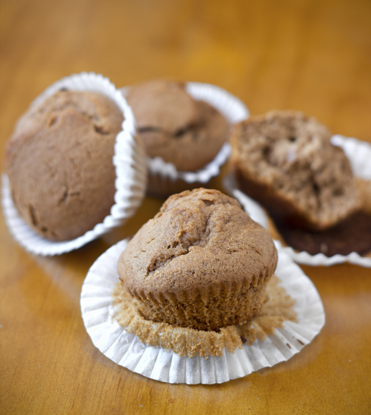Mini Muffins de Chocolate