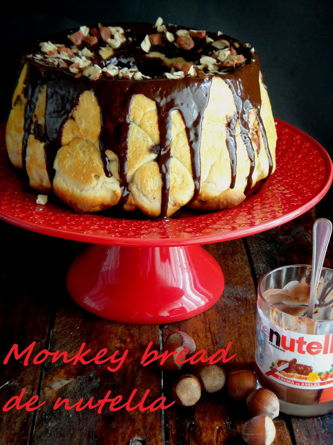 MONKEY BREAD DE NUTELLA