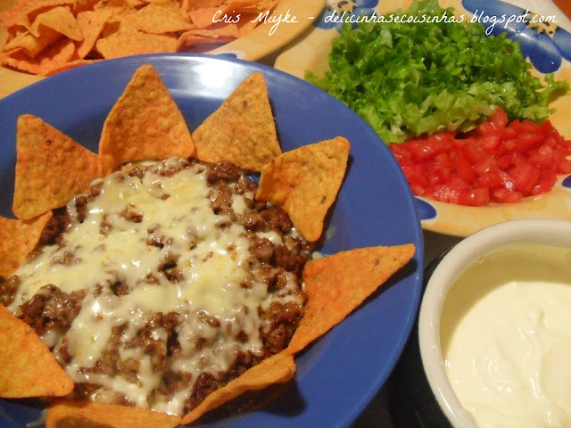 Nachos e Sour Cream