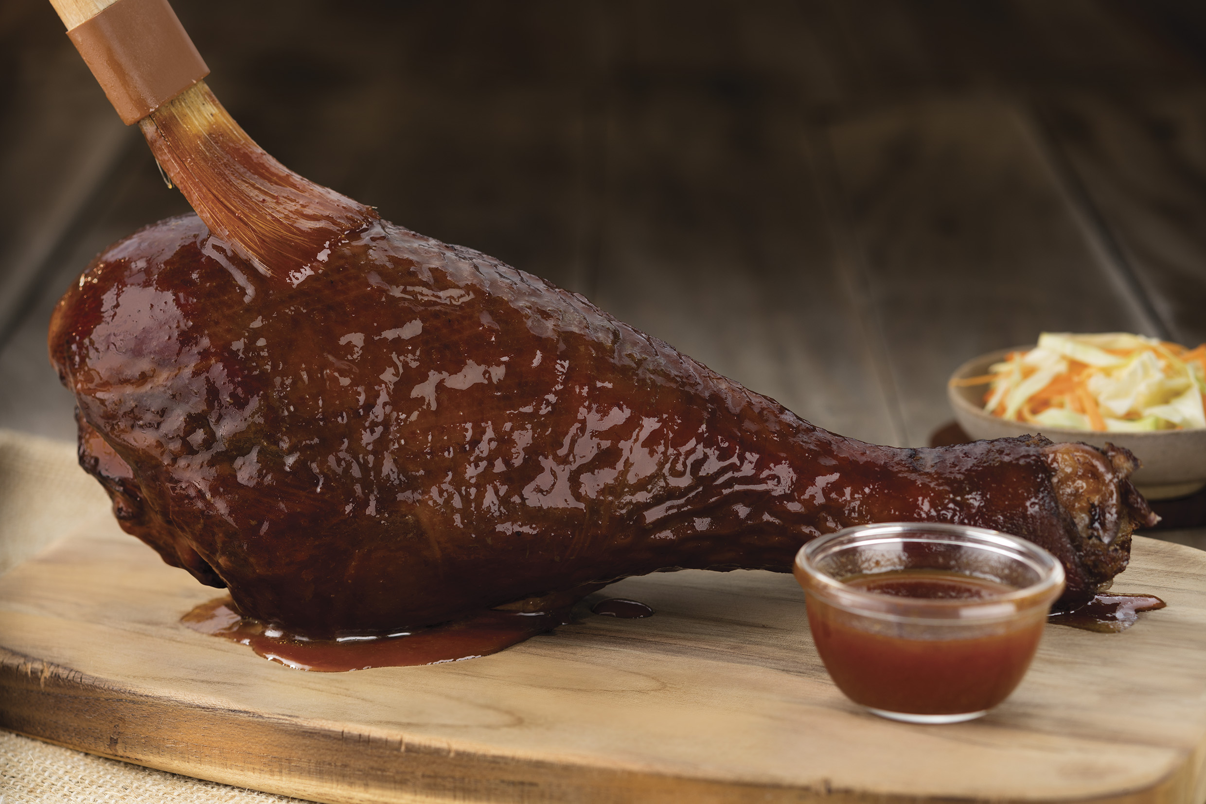 Colossal Turkey Leg no Outback