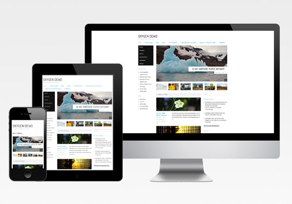 Responsive Themes: Oxygen and Confit