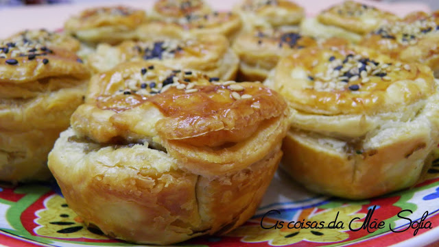 Empadas de 3 cogumelos / 3 Mushrooms pies