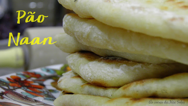 Pão Naan - World Bread Day 2017