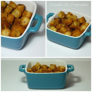 Philips Airfryer - Croutons Caseiros
