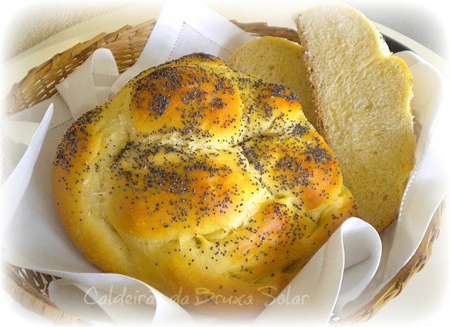 Pão Challah #World Bread Day
