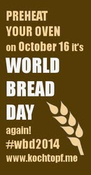 World Bread Day 2014 - Pão de Frios