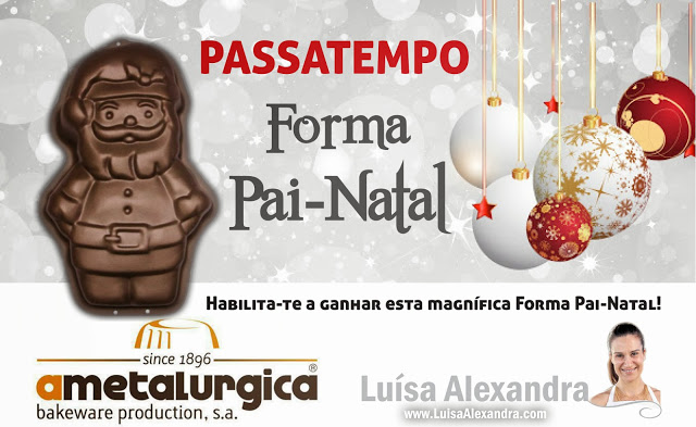 Passatempo Forma Pai-Natal • «A Metalúrgica - Bakeware Production»