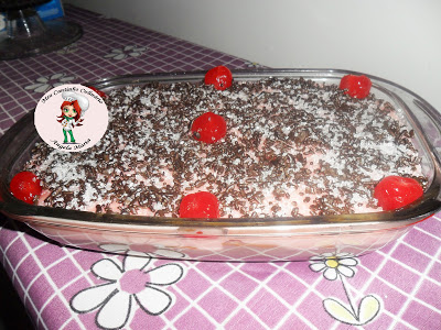 Pavê duo – chocolate e cereja