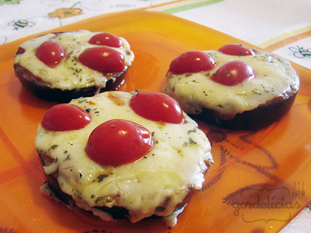 Mini Pizza de Beringela