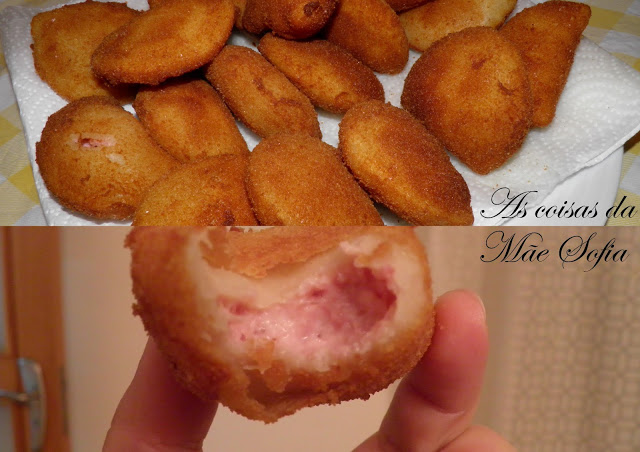 Rissois de queijo e fiambre / Ham and cheese rissoles