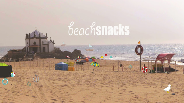 Beach snacks