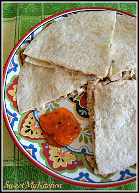Quesadillas de frango