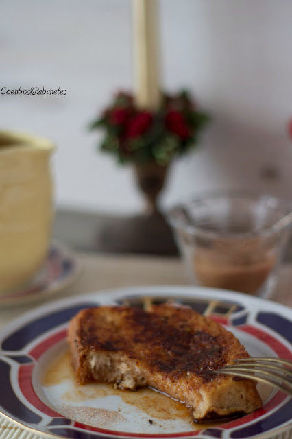 Rabanadas grelhadas | Grilled French Toasts