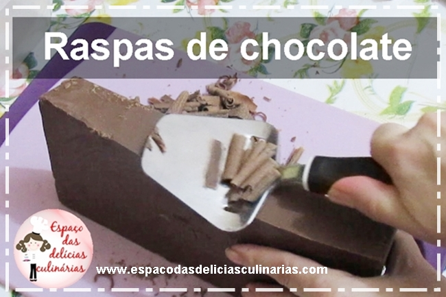 Raspas de chocolate