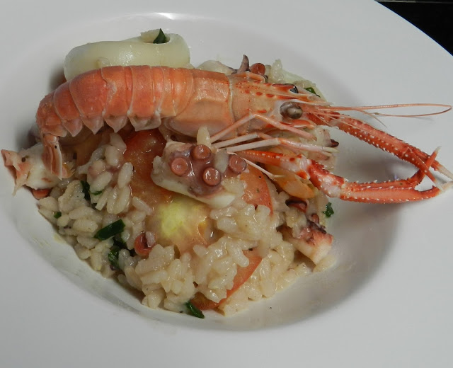 Arroz Chique com Frutos do Mar