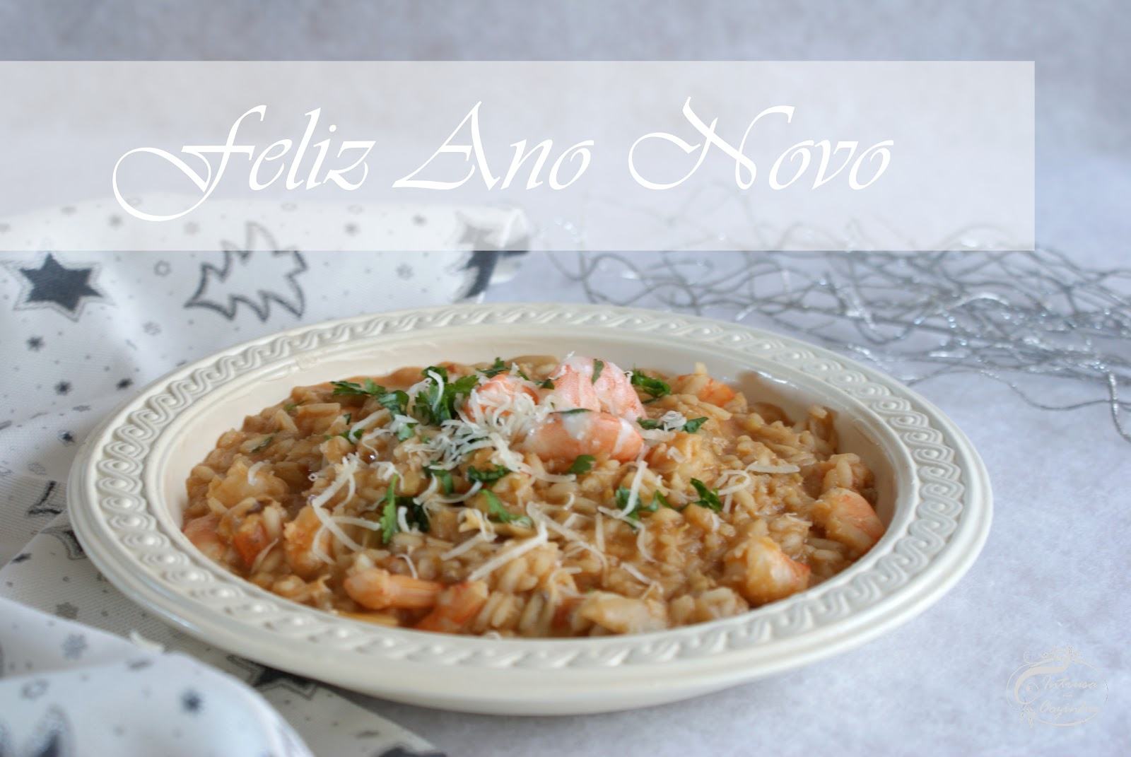 Risotto de Ano Novo {New Year's Risotto}