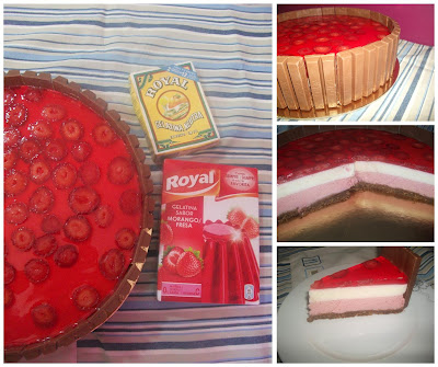 Royal Strawberry cheesecake