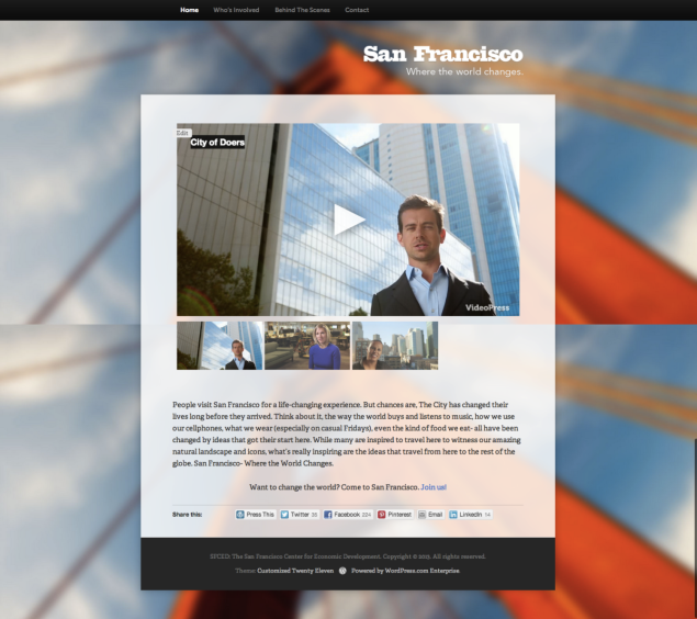 Two Cities, Two Launches: A Pair of Sites Built on WordPress.com Enterprise