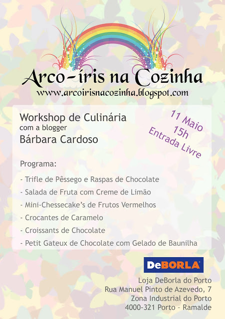 Workshop no DeBorla do Porto - 11 de Maio