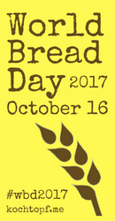Pão sem sova – World Bread Day 2017