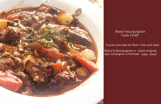 Boeuf Bourguignon simplificado Júlia Child
