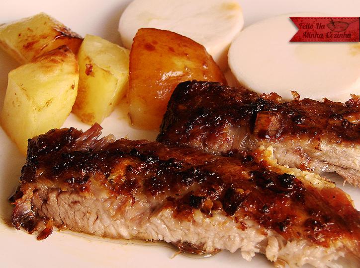 Resultado de imagem para Carne de Porco Assada Com Manteiga e Mel