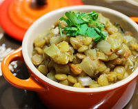 Curry de Lentilha (vegana)