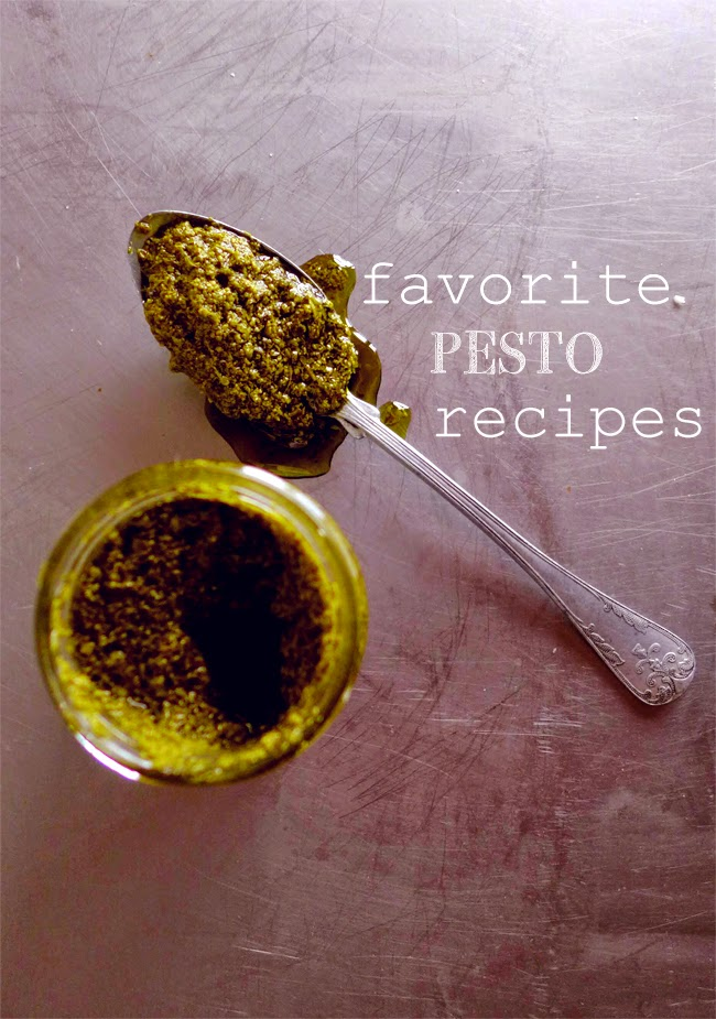 Favorite pesto recipes